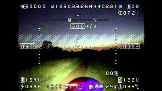 FPV Night Flying - Super BRIGHT Landing Light!