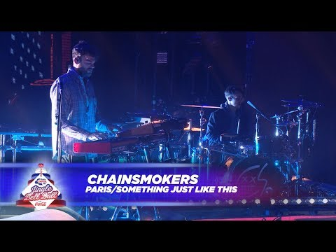 Chainsmokers  Paris  Something Just Like This  At Capitals Jingle Bell Ball 2017