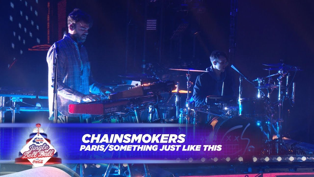chainsmokers paris something just like this live at capital s