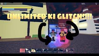 Unlimited Ki Glitch! Roblox Dbz Fs