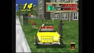 Crazy Taxi 2 Dreamcast HD 1080p !!!