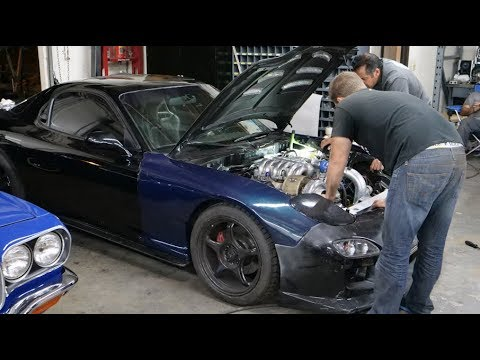 Abel Ibarra Finds at Least 7 Things Wrong With the 3 Rotor RX-7