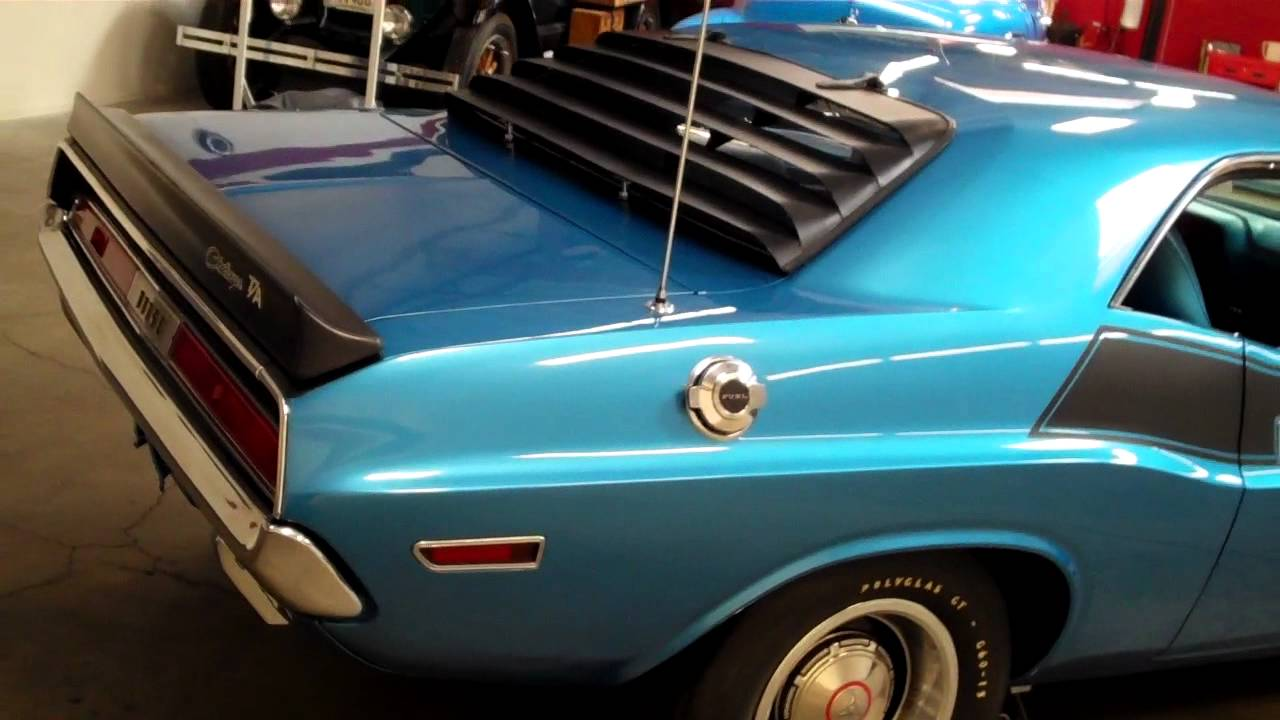 1970 Dodge Challenger T A For Sale Www Occlassiccars