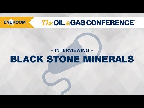 Black Stone Minerals CFO Jeff Wood at EnerCom's The Oil & Gas Conference® 2017