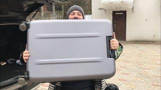 тест-драйв чемодана Xiaomi 28 дюймов - честный обзор чемодана Xiaomi Mi Trolley 90 Points