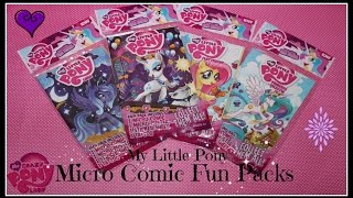 My Little Pony: Micro Comics - Princess Celestia, Princess Luna, Fluttershy & Rarity
