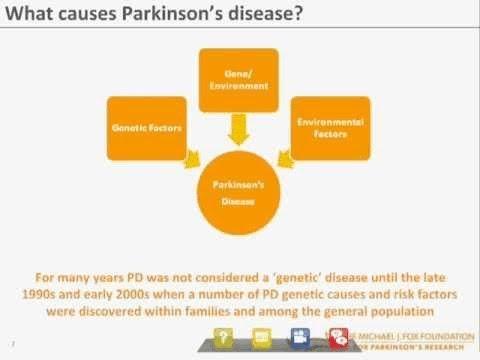 "Webinar: ""Genetics and Parkinson's Disease"" September 2012 ..."