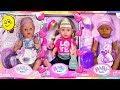 беби бон распаковка куклы