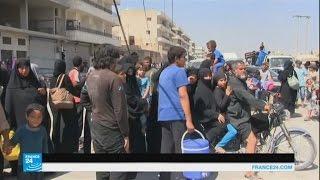 سوريا: ارتياح بين أهالي منبج بعد خروج تنظيم الدولة الإسلامية من المدينة