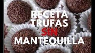 Trufas de galleta SIN MANTEQUILLA Thumbnail