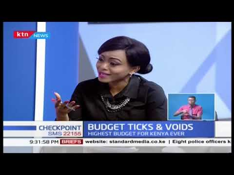 Budget Ticks & Voids | CS Rotich read Biggest budget for Kenya ever | Part 1