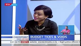 Budget Ticks & Voids | CS Rotich read Biggest budget for Kenya ever | Part 1
