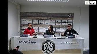 TV Elv // Pressekonferenz - SV Elversberg vs. Kickers Offenbach / 0:2