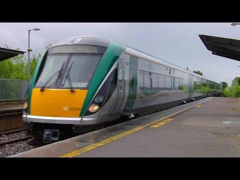IE 22000 Class Intercity Train number 22234 - Monasterevin, Kildare