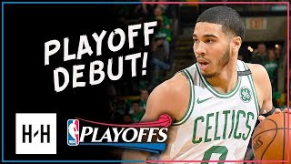 Jayson Tatum PLAYOFF DEBUT! Full Game 1 Highlights vs Bucks 2018 Playoffs - 19 Pts, 9 Reb!