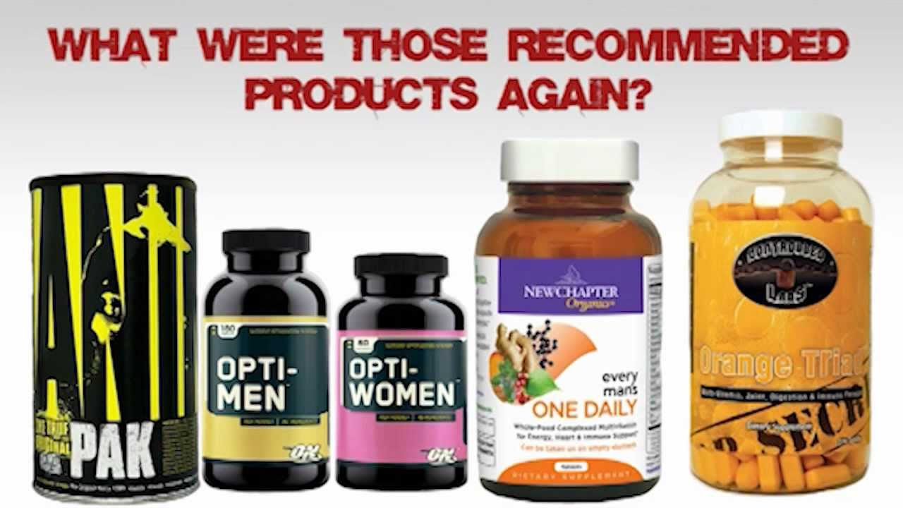 what is the best multi vitamin youtube