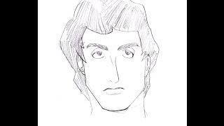 How to Draw / Como Dibujar Sylvester Stallone, Rocky SPEED (Javier Díaz)