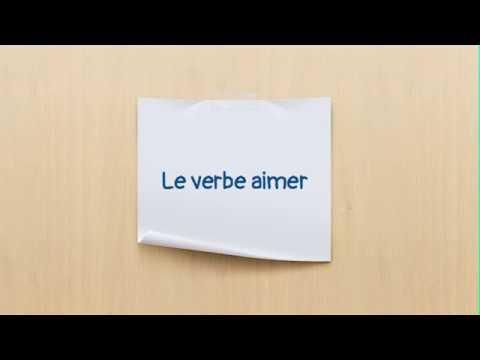 Conjugaison Du Verbe Aimer En Anglais To Like Youtube