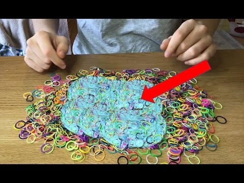 Diy must try this super squishy slime how to make crunchy super squishy slime how to make crunchy fluffy slime with loombandsno borax ccuart Images