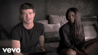 Robin Thicke - The Sweetest Love (Behind the Scenes)