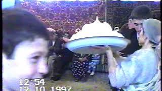 2- 1 часть свадьбы Дагировых Арсен Папум 1997 год