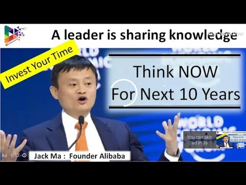 Life and career lessons: Jack ma Interview at Davos 2018.