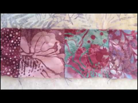 Machine quilting hearts with Christine Baker -  Fairfield Road Designs