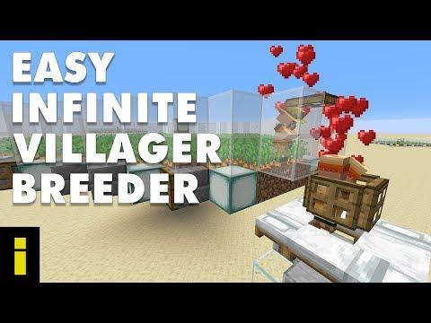 Easy Infinite Villager Breeder For Minecraft 1.15.2 (Tutorial)
