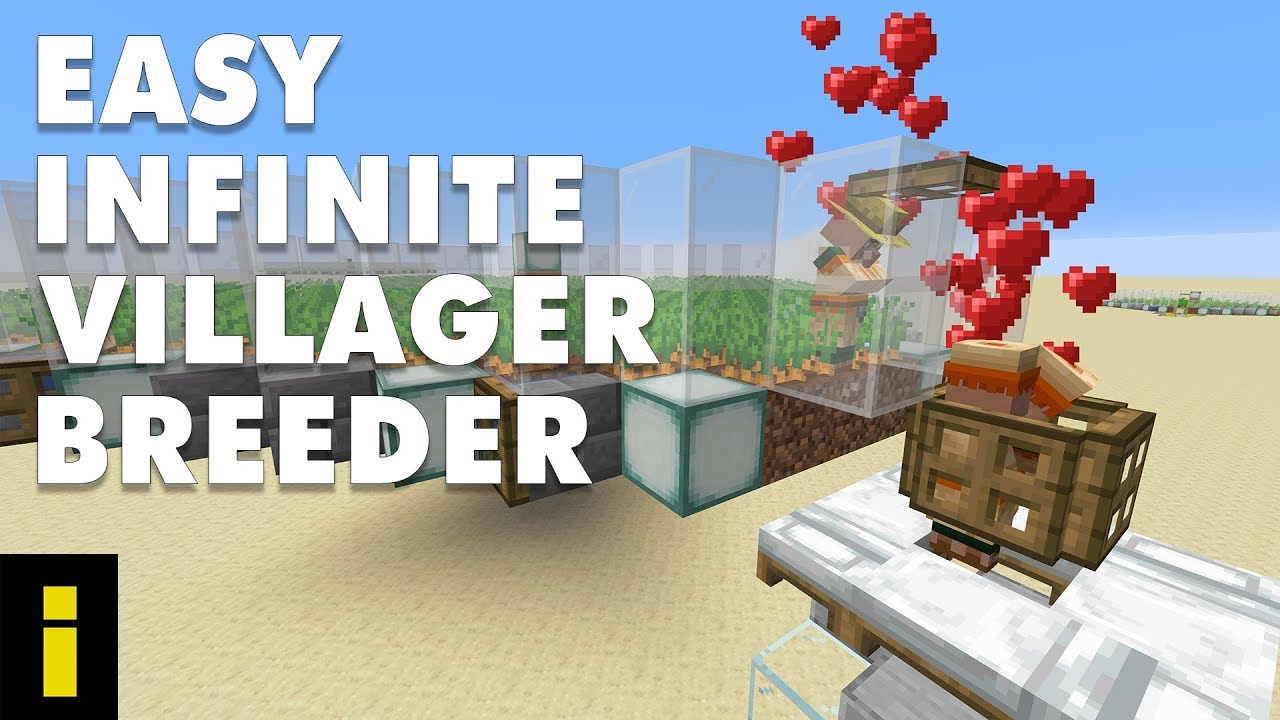 Easy Infinite Villager Breeder For Minecraft 1 14 4 (Tutorial)