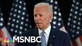 Joe Biden: 'despicable' For Trump To Say It's A 'great Day' For George Floyd   The 11th Hour   Msnbc