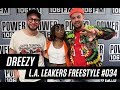 Dreezy Freestyle With The L.A. Leakers - Freestyle #034