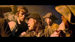 Офигенная русалка из Пиратов Карибского моря поёт!!!