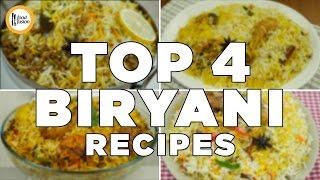 Top 4 Biryani Recipes By Food Fusion
