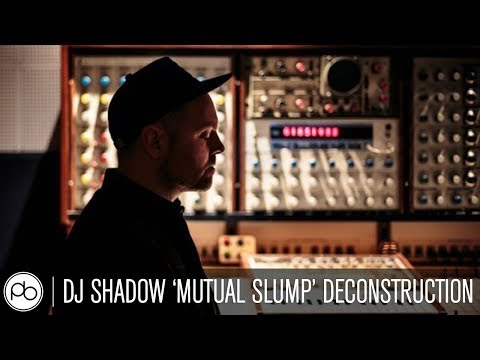 Deconstruction in Ableton Live: DJ Shadow - Mutual Slump at Sonar +D, Barcelona
