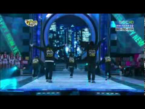 BEAST - Ice Box + Hey, Baby @ MBC Star Dance Battle (2010 ...