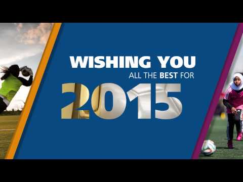 A Happy New Year from FIFA
