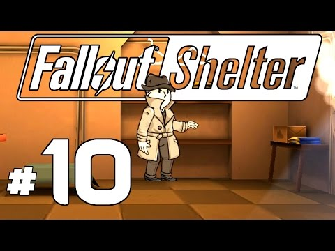 Fallout Shelter PC - Ep. 10 - The Mysterious Stranger! - Lets Play Fallout Shelter PC Gameplay