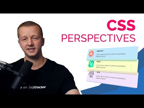 Animating CSS Perspectives for UI Design