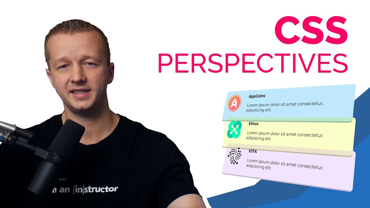 Cryptocurrencies animating css perspectives for ui design designcourse