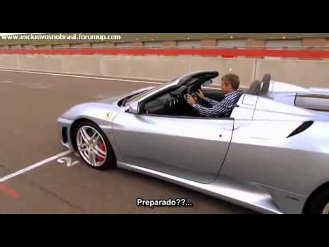 Fifth Gear Ferrari F430 Spider