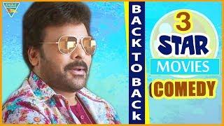 Best Comedy   Superhit Hindi Movies   Chiranjeevi, Bramhanandam   Back To Back   Eagle Hindi Movies