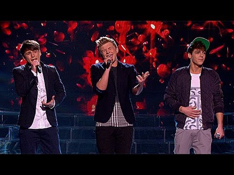 District3 sing for survival - Live Week 2 - The X Factor UK 2012