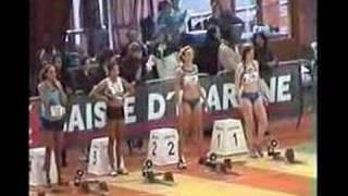 2008.02 Marine Souche France indoor 60m haies - 60m EF