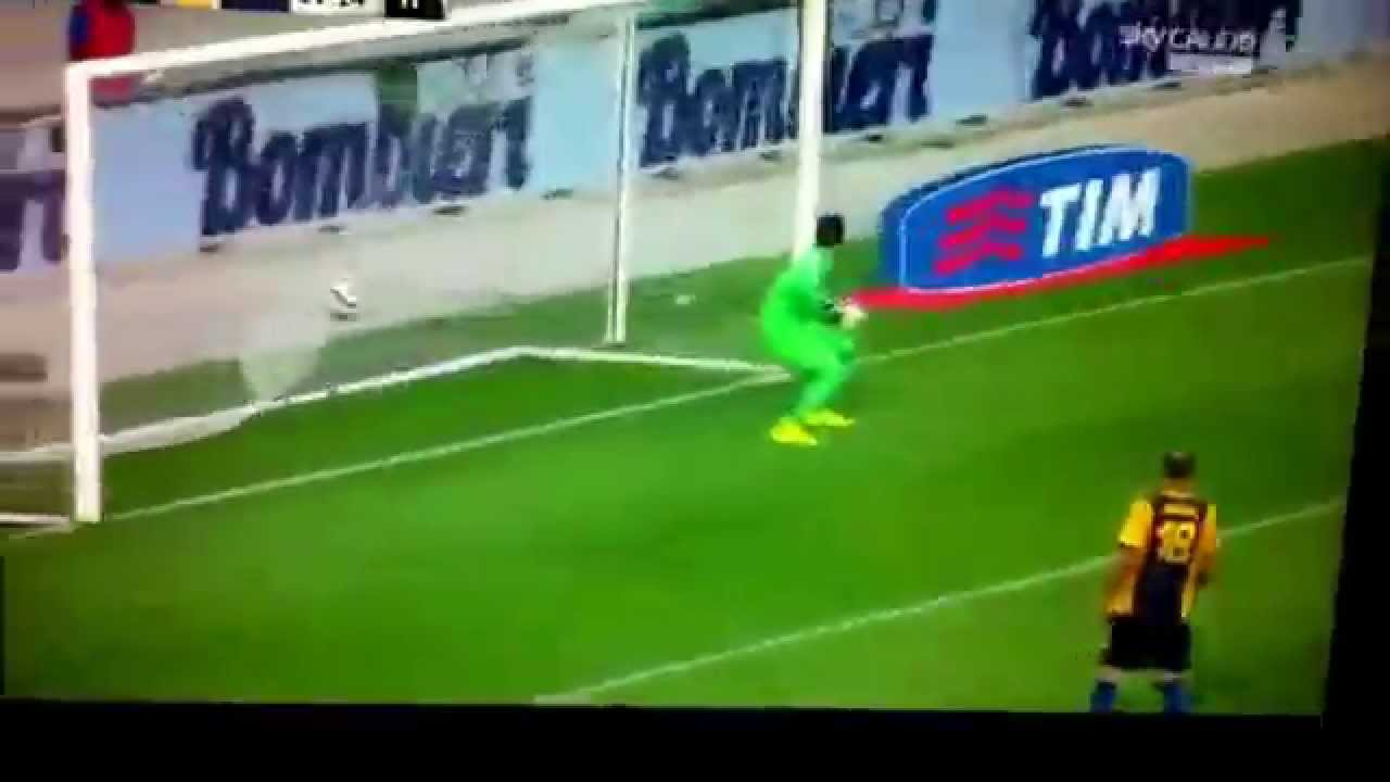 Hellas Verona - Milan 0-1 (Autogol Marquez) - YouTube