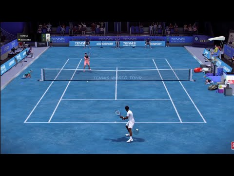 Monfils vs Fritz Tennis World Tour online #ATP #TennisWorldT