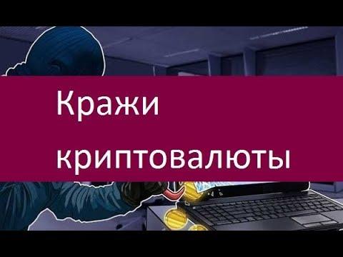 Кражи криптовалюты. Самые известные случаи