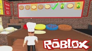 COOKING PIZZA! | Let's Play Roblox