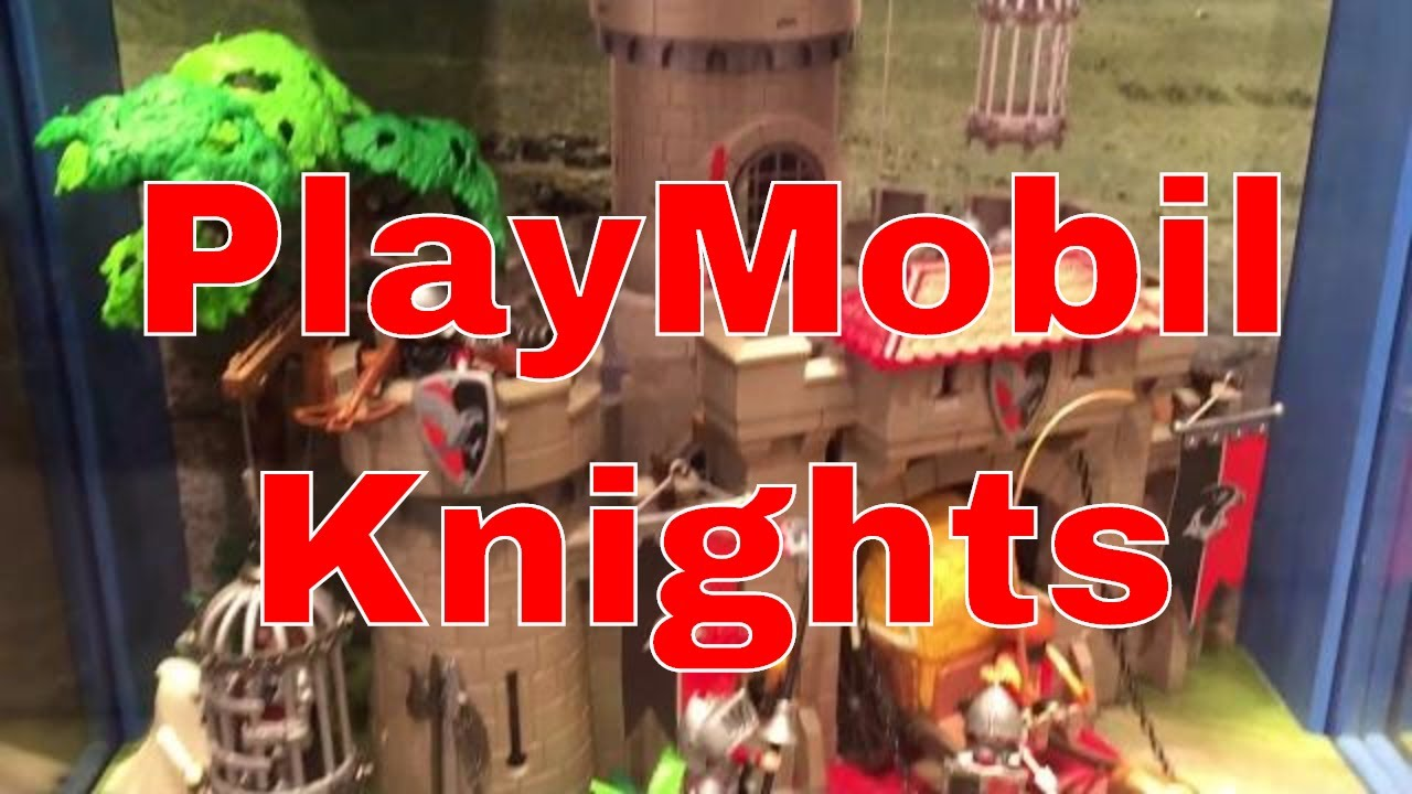 playmobil knights set display at galeria kaufhof 00346. Black Bedroom Furniture Sets. Home Design Ideas