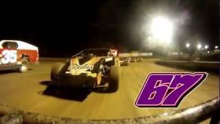 Garret Stewart - Volusia Speedway Park (2/21/12) - UMP Modified A-Main