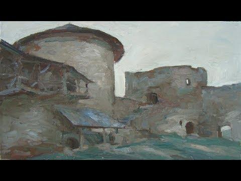 Kamyanets-Podilsky in modern art, Кам'янець-Подільський на картинах